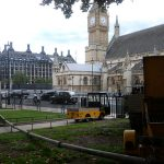 Static line pouring concrete in Westminster, London