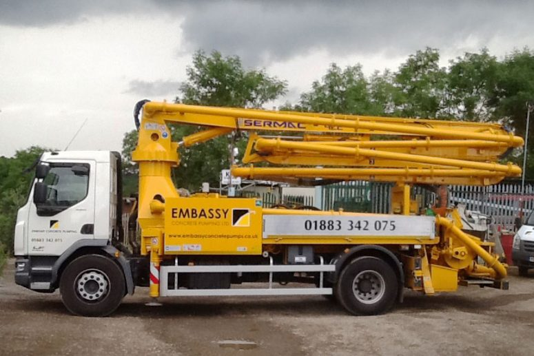 Sermac 4 Z27 Concrete Boom Pump Hire