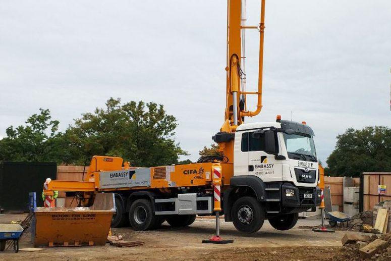 CIFA K36C Concrete Boom Pump Hire