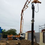 Cifa 36m concrete boom pump at work