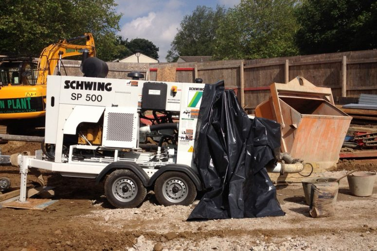 SCHWING SP500 Concrete Pump Hire