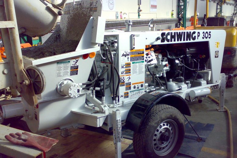 SCHWING SP305 Concrete Pump Hire