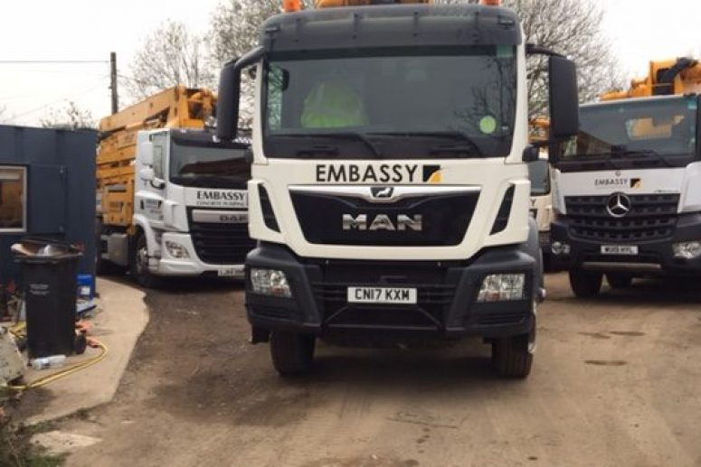 FORS Compliant Concrete Pump Fleet