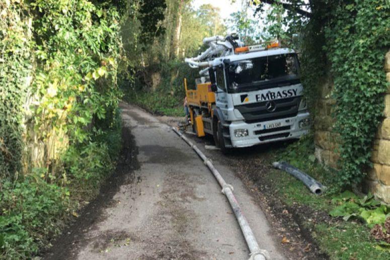 Over 200 meters pumping distance in Tunbridge Wells, Kent
