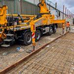 CIFA 42m boom pump in Ruislip, North London