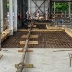 28m Sermac concrete pumping Swanley, Kent